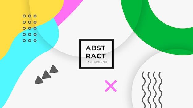 Современный абстрактный творческий фон Premium векторы