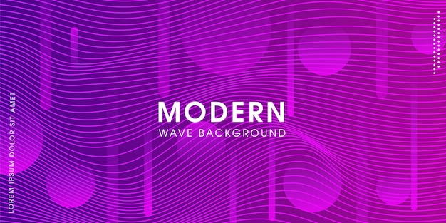 Современный абстрактный творческий фиолетовый фон