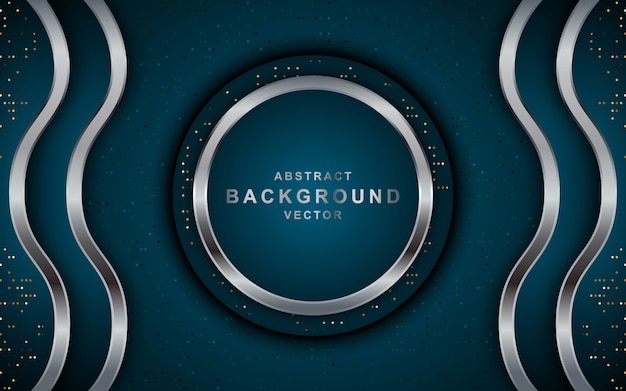 Modern abstract dark background with circle.