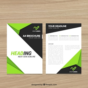 Modern abstract flyer