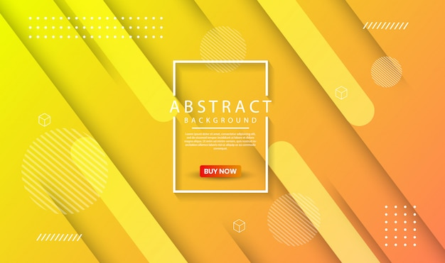 Modern abstract geometric background with dynamic gradient