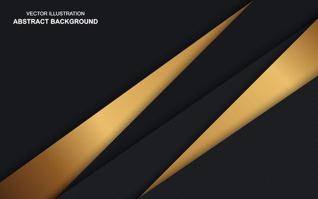 현대 추상 기하학적 블랙 컬러 럭셔리 디자인 배경