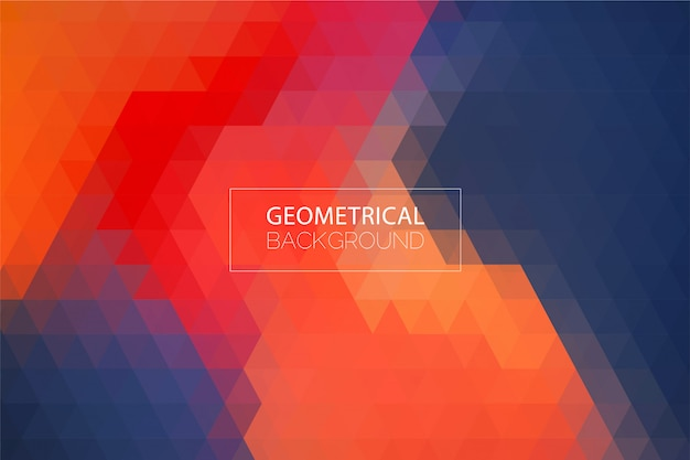 Modern abstract geometrical background