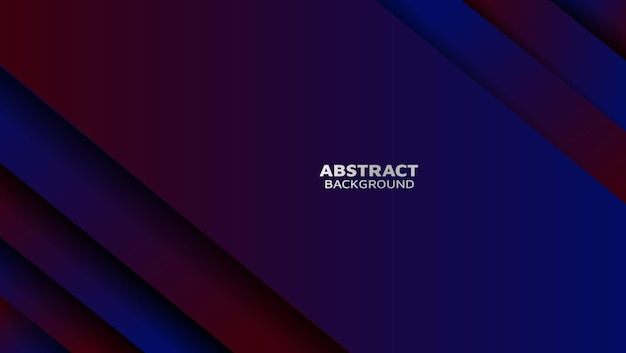 Modern abstract gradient background overlap layer with shadow