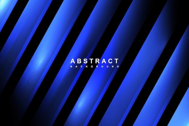 Современный абстрактный градиент синий фон