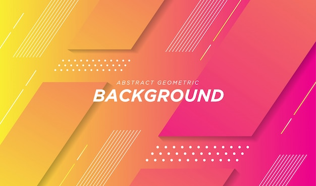 Modern abstract gradient geometric background.