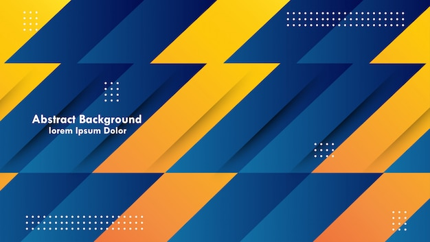 Modern abstract graphic elements. abstract gradient banner