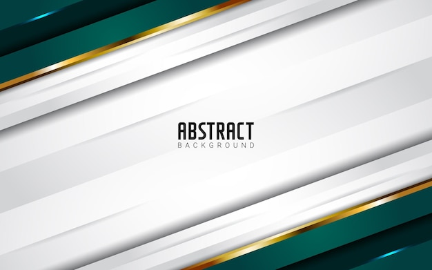 Modern abstract green white background