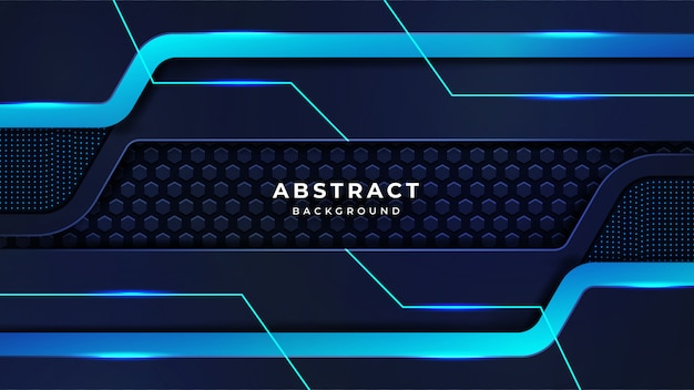 Modern abstract luxury technology background