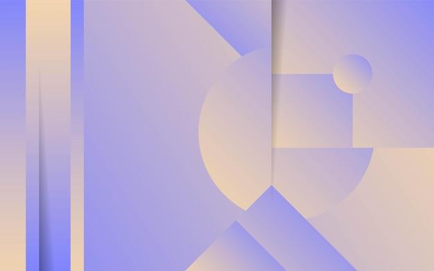 Modern abstract minimalist shape background.