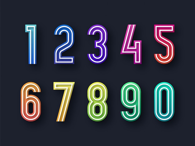 Modern abstract numbers