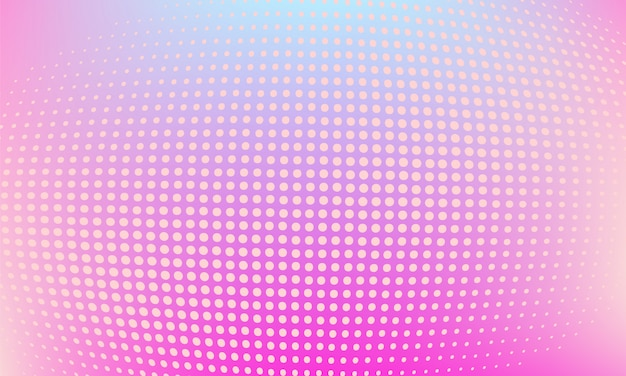 Modern abstract party halftone background