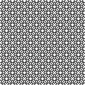 Modern abstract pattern in dark and white