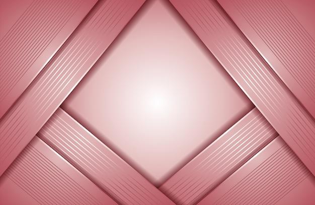 輝きとモダンな抽象的なピンクの背景
