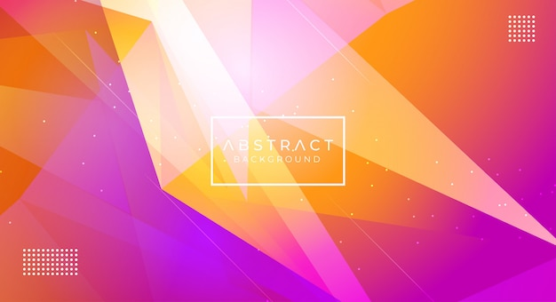 Modern abstract polygonal background