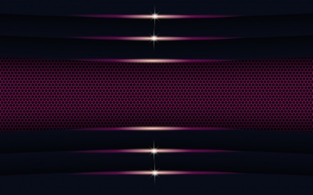 Modern abstract purple light with shape background