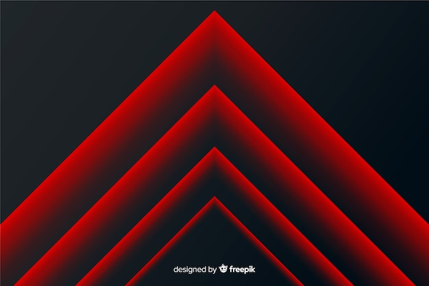 Modern abstract red boost lines geometric background