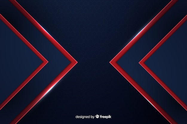 Modern abstract red lines geometric background