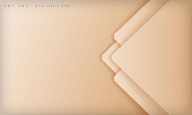モダンな抽象的なソフトライトゴールデン背景