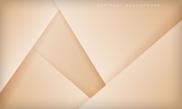 Современный абстрактный мягкий светлый золотой фон