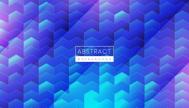 Современные абстрактные технологии фон с футуристическим неоновым светом и светящейся поверхностью