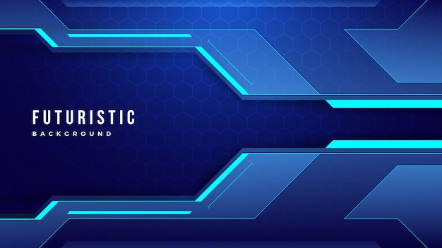 Modern abstract technology futuristic background