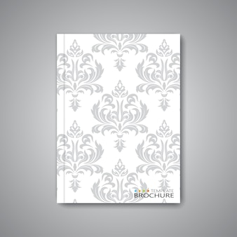 Modern abstract template layout for brochure, magazine, flyer, booklet, cover or report