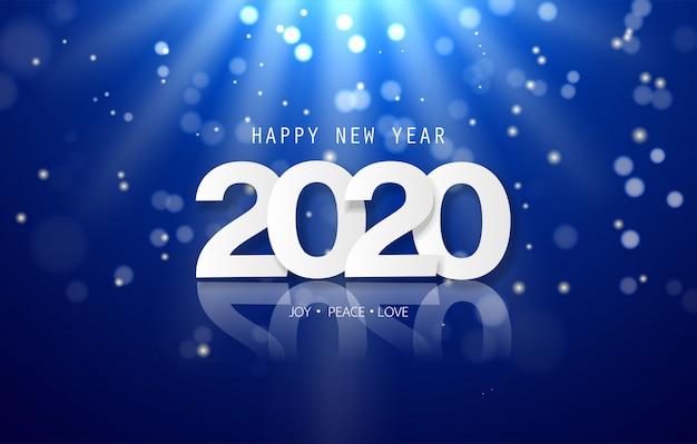 Современный и креативный фон для новогоднего фестиваля и вечеринки сезона.