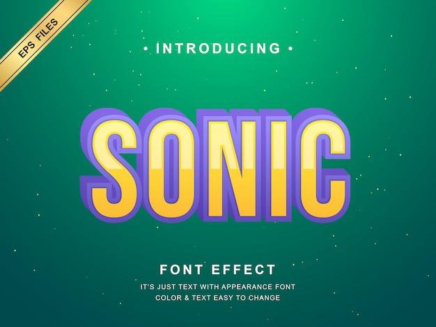 クールな効果を持つモダンで未来的なフォント、タイトル、製品、ヘッドライン用の3dボールドフォント効果書体