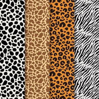 현대 동물 프린트 패턴 컬렉션