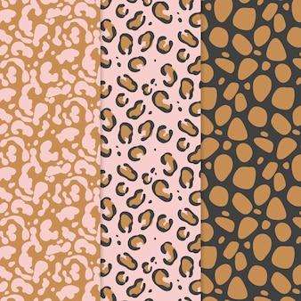 Modern animal print pattern