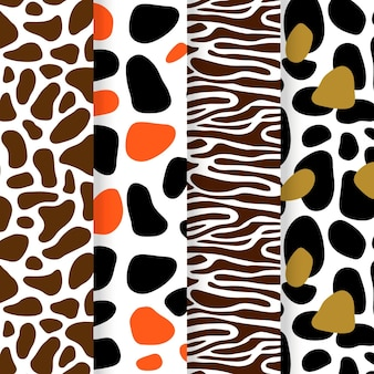 Modern animal print patterns pack