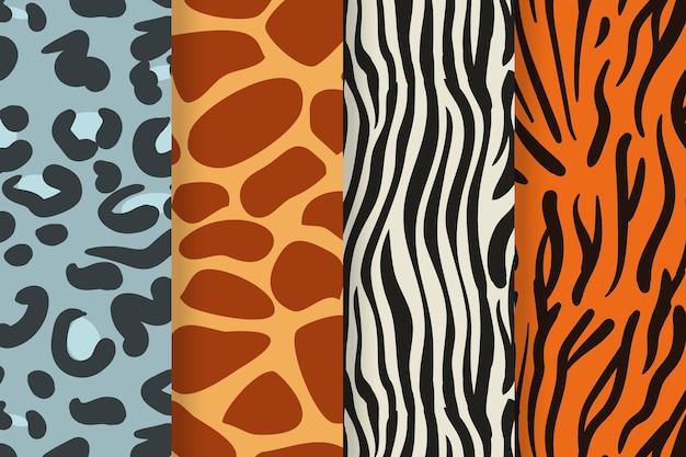 Modern animal print patterns pack