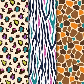 Modern animal print patterns