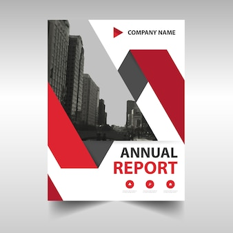 Modern annual report cover