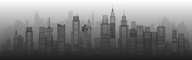 Modern architecture city skyscraper abstract of building architectural art. future architectural landmarks in cityscape on white background. panorama view capital.  halftone.