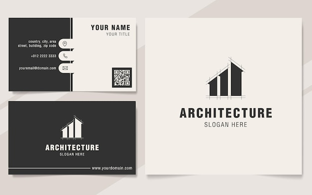 Modern architecture logo template
