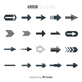 Modern arrow collection