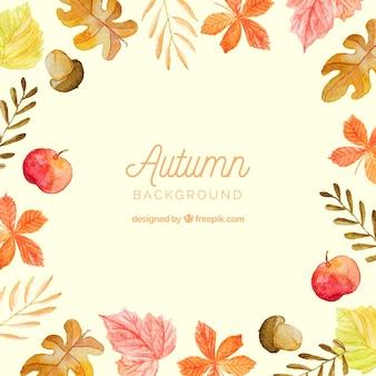 Modern autumn background