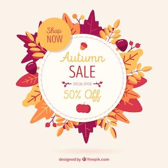 Composizione di vendita autunno moderno con stile incantevole