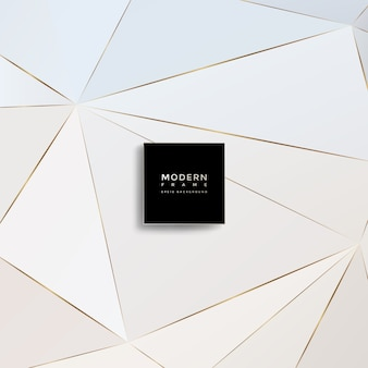 Modern background, abstract geometric shapes
