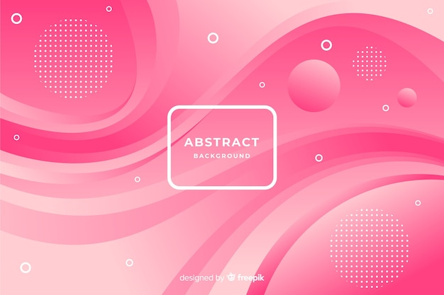 Modern background of abstract shapes