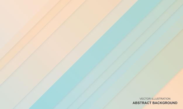 현대 배경 파란색과 노란색 간단한 색상