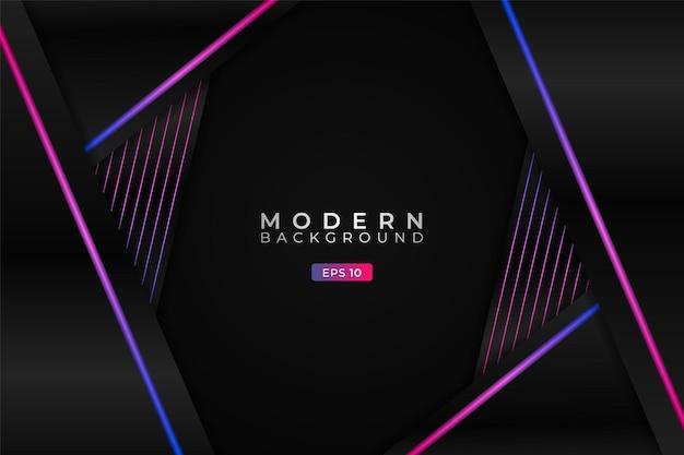 Modern background diagonal overlapped shape with elegant gradient blue pink