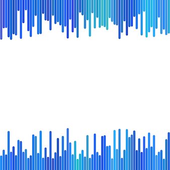Modern background from vertical stripes in blue tones - vector design on white background