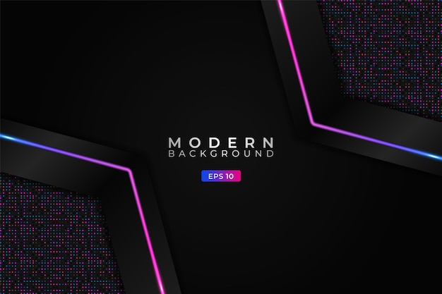 Modern background premium diagonal hexagon with elegant glitter blue pink