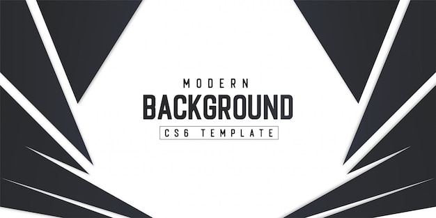 Modern background template with abstract shapes