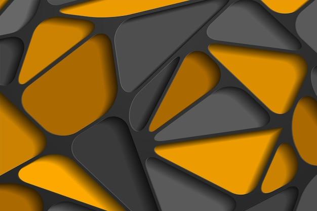 Современный фон с эффектом 3d перекрытия слоев