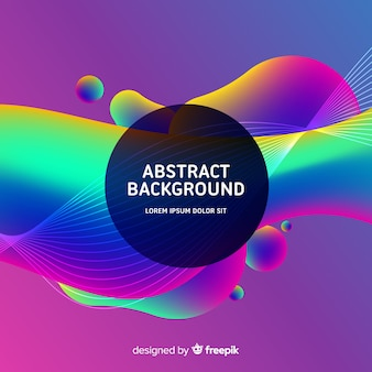Modern background with abstract design