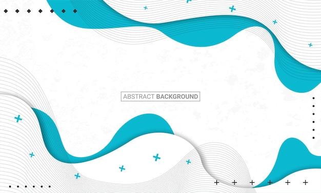 Современный фон с абстрактными элементами и динамическими формами